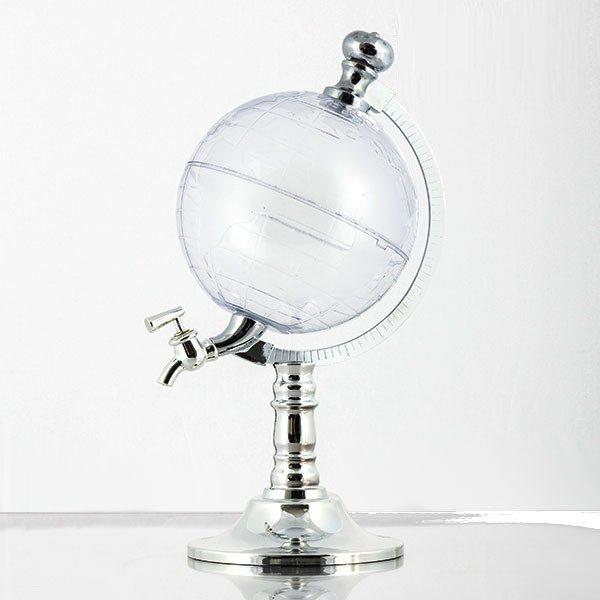 """""""Bierballon"""" – Getränkespender & -kühler in einem - Leeransicht"""