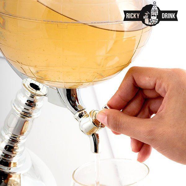 """""""Bierballon"""" – Getränkespender & -kühler in einem - Nutzung"""