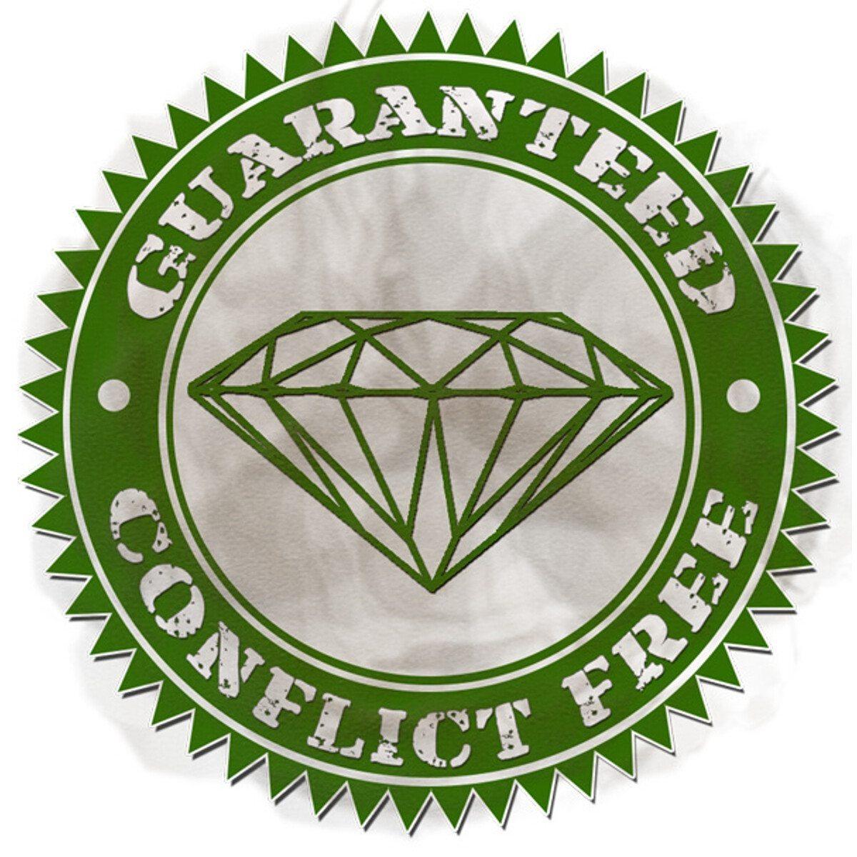 Centaura onnittelukortti timanteilla (0,05 karaattia)