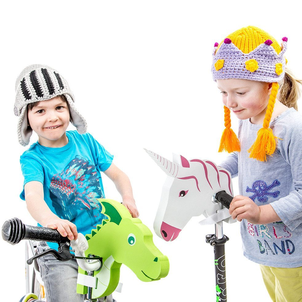 Deko-eläin polkupyörän ohjaustankoon