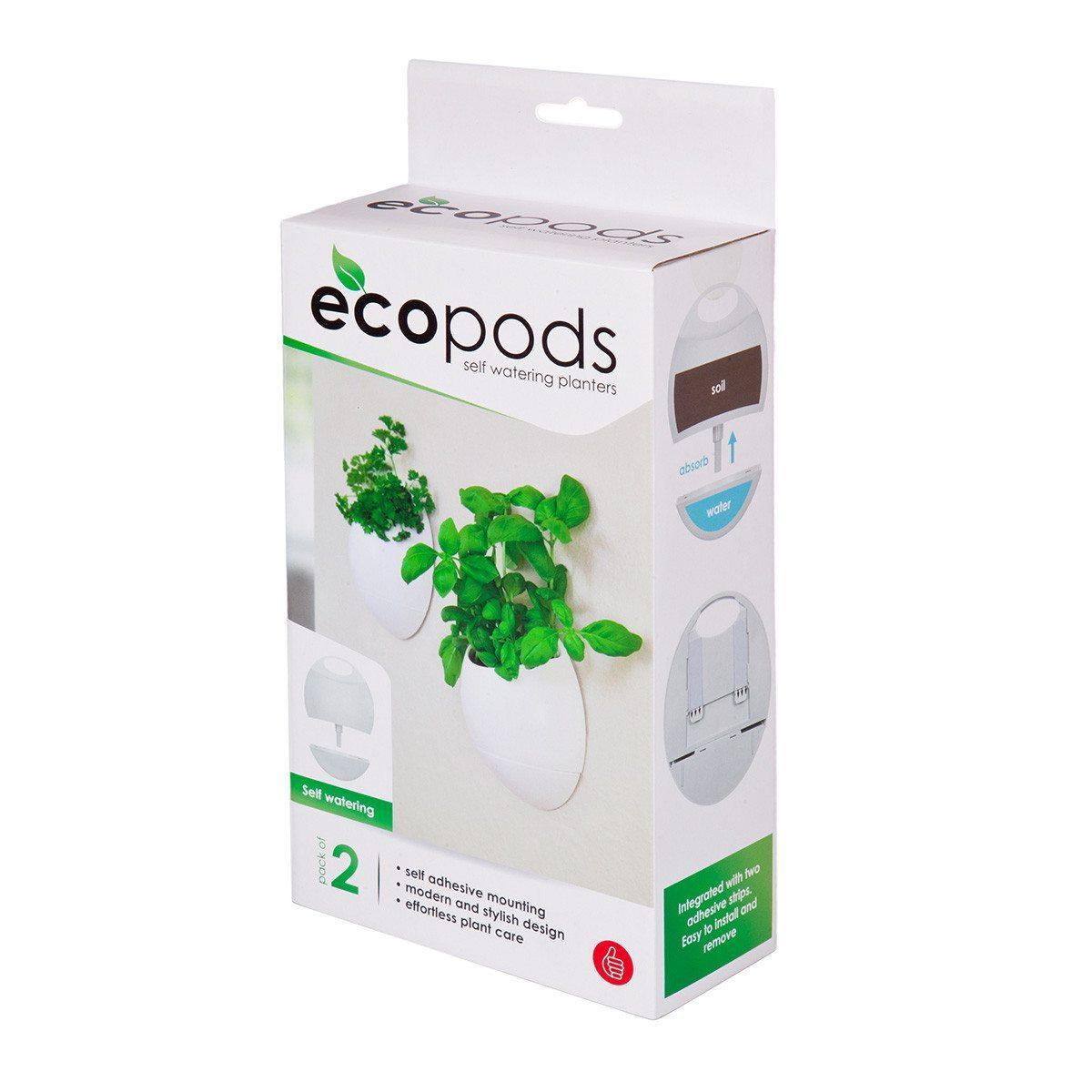 EcoPods itsekasteleva kukkaruukku