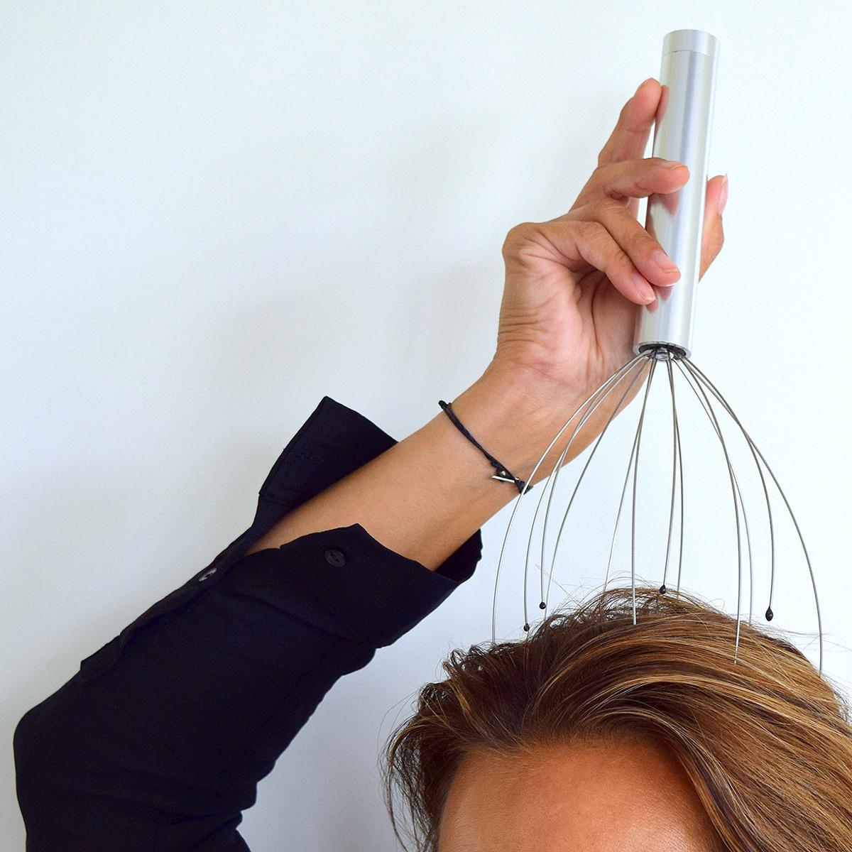 Elektroninen päähierontalaite