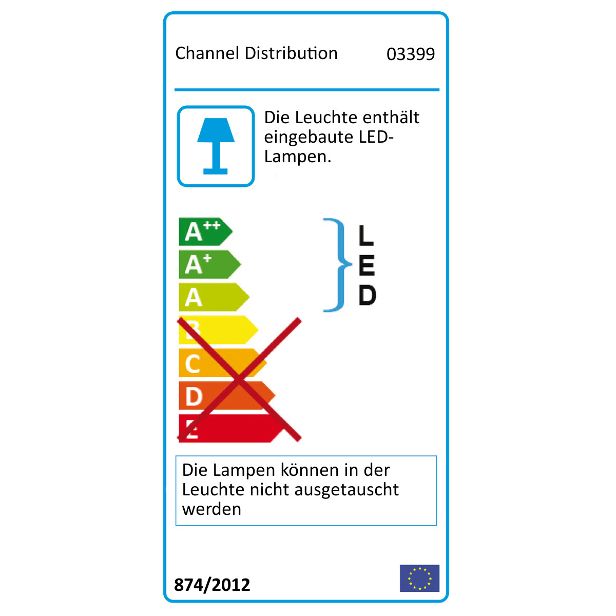 FLOATING LAMP E-Label