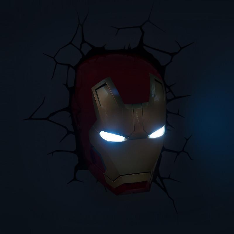 Iron Man 3D-lamppu