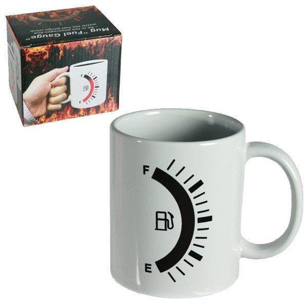 Kaffeebecher mit Tankanzeige