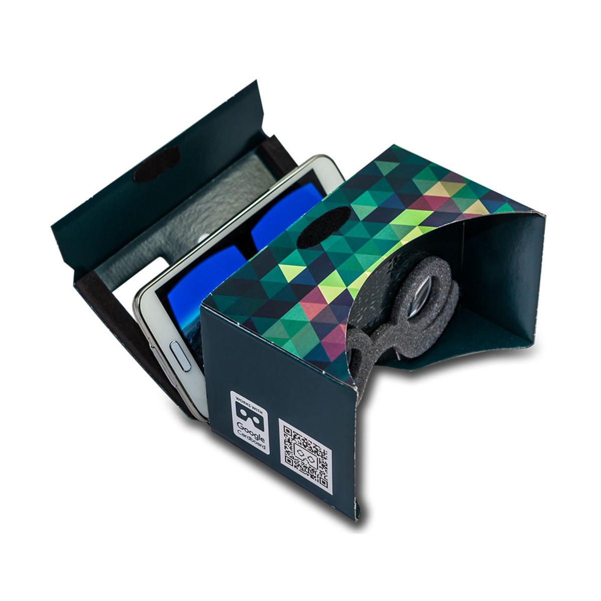 Mr. Cardboard Virtual Reality -lasit