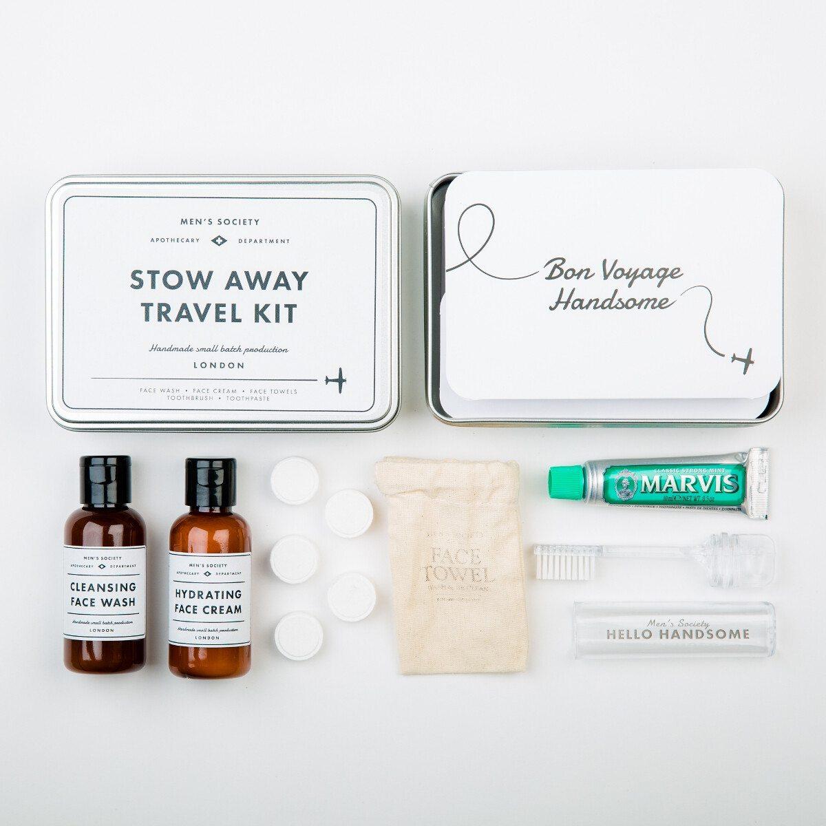 Stow Away retro-peseytymissetti miehelle