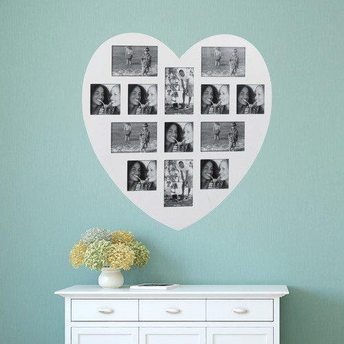 Sydän valokuvakehys