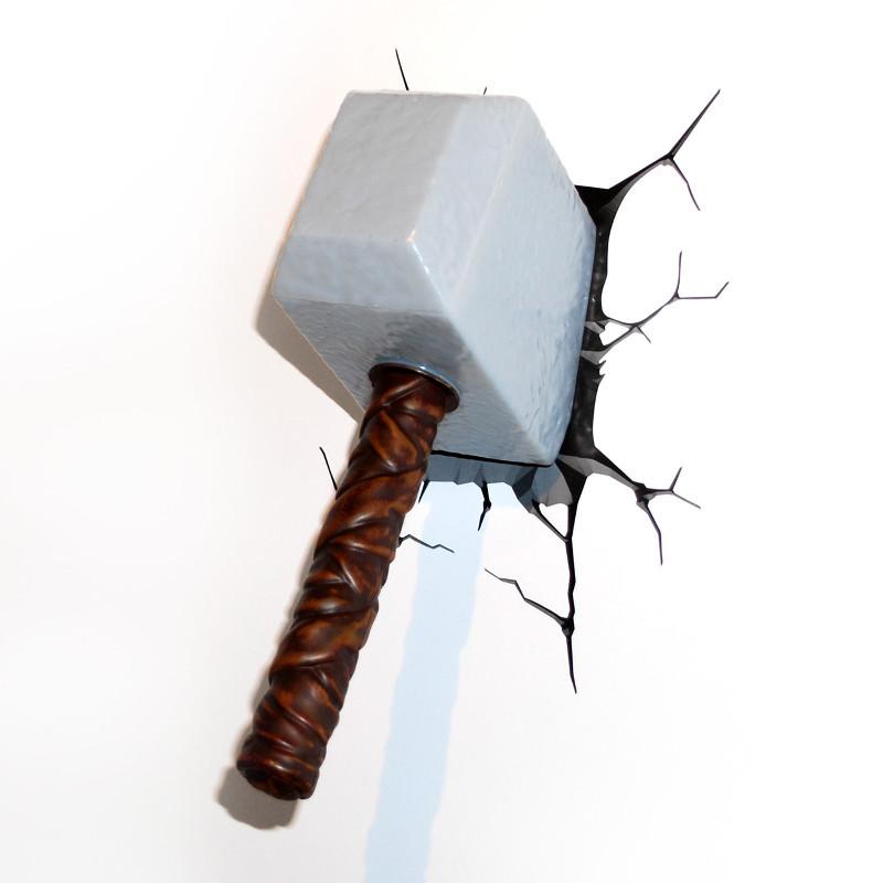 Thorin vasara 3D-lamppu