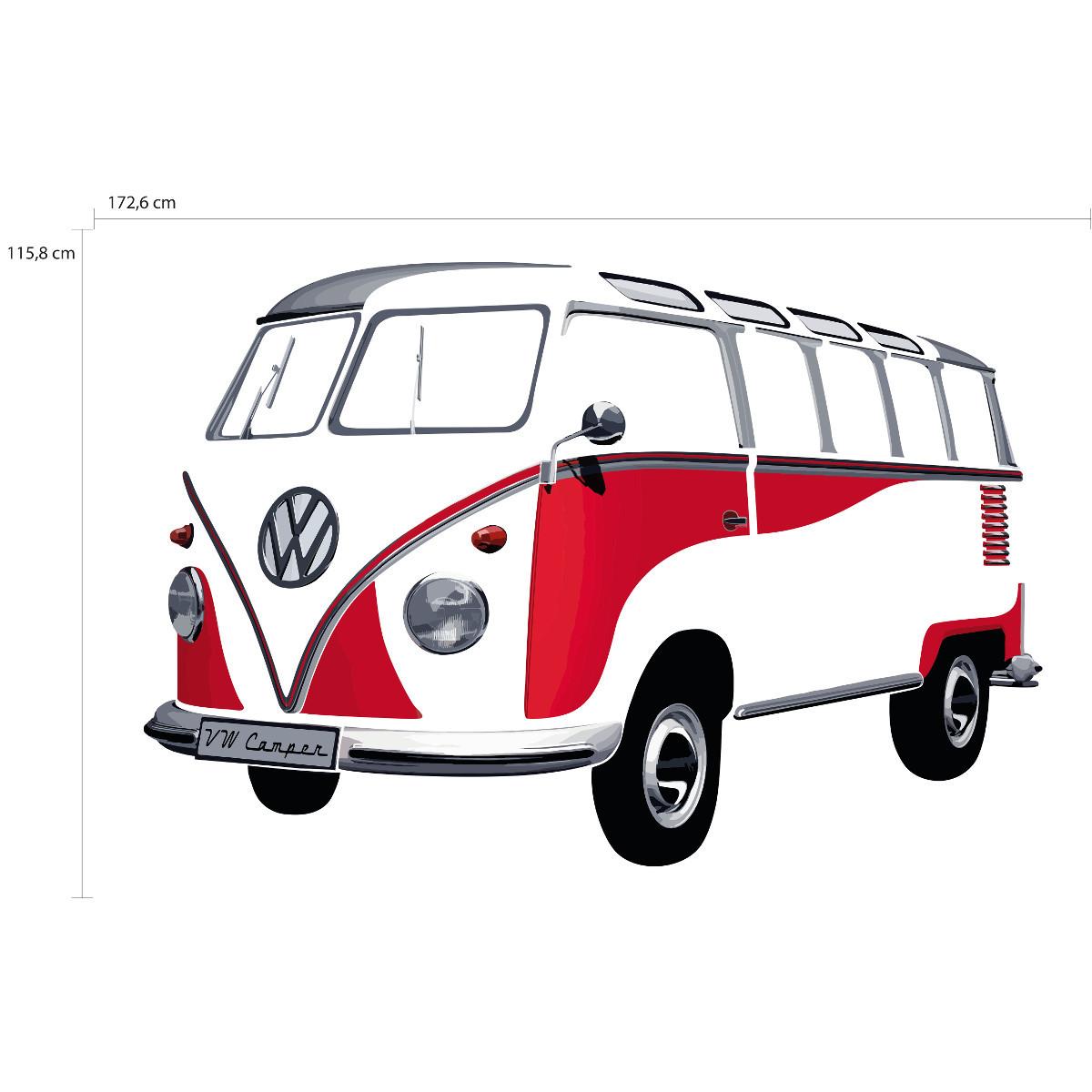 """Wandtattoo """"VW Bulli"""""""
