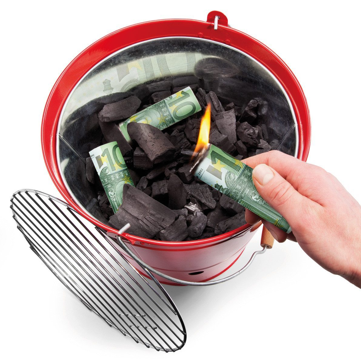 Burn Your Money grillisytykkeet