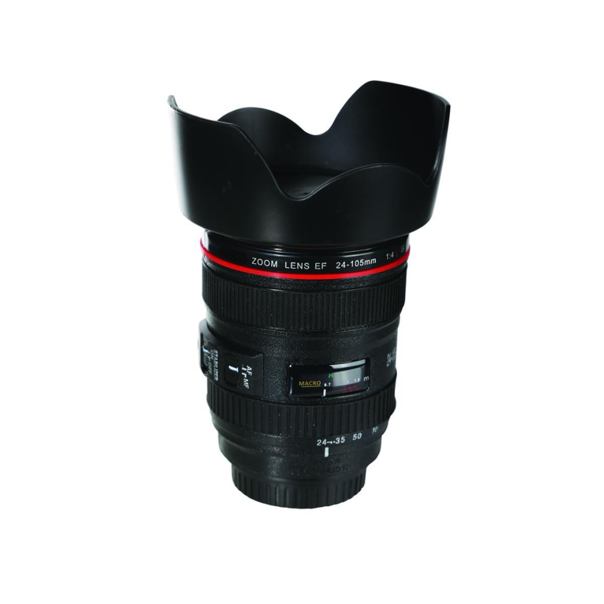 Kameraobjektiivi-säästölipas