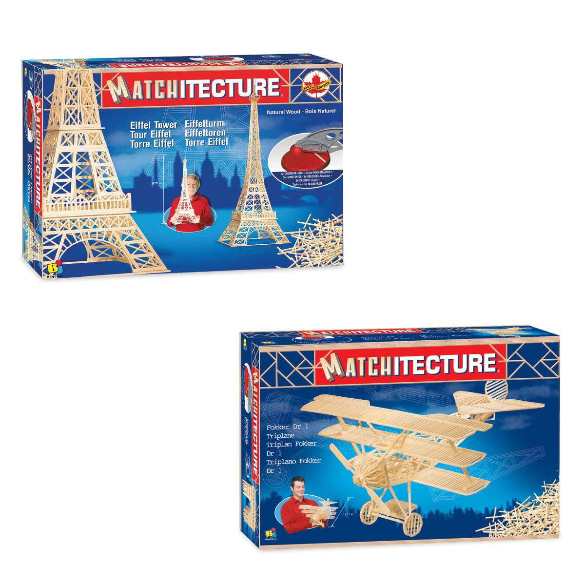 Matchitecture 3D-rakennussarja