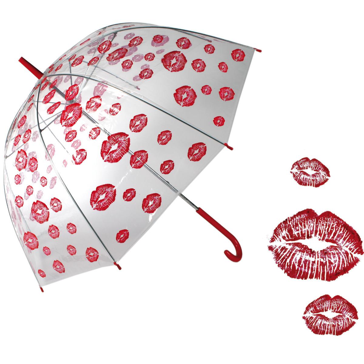 """Regenschirm """"Kussmund"""""""