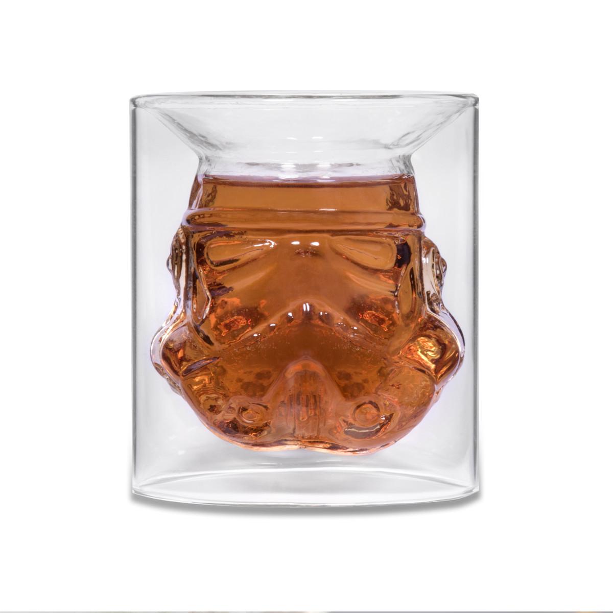 STAR WARS STORMTROOPER GLASS