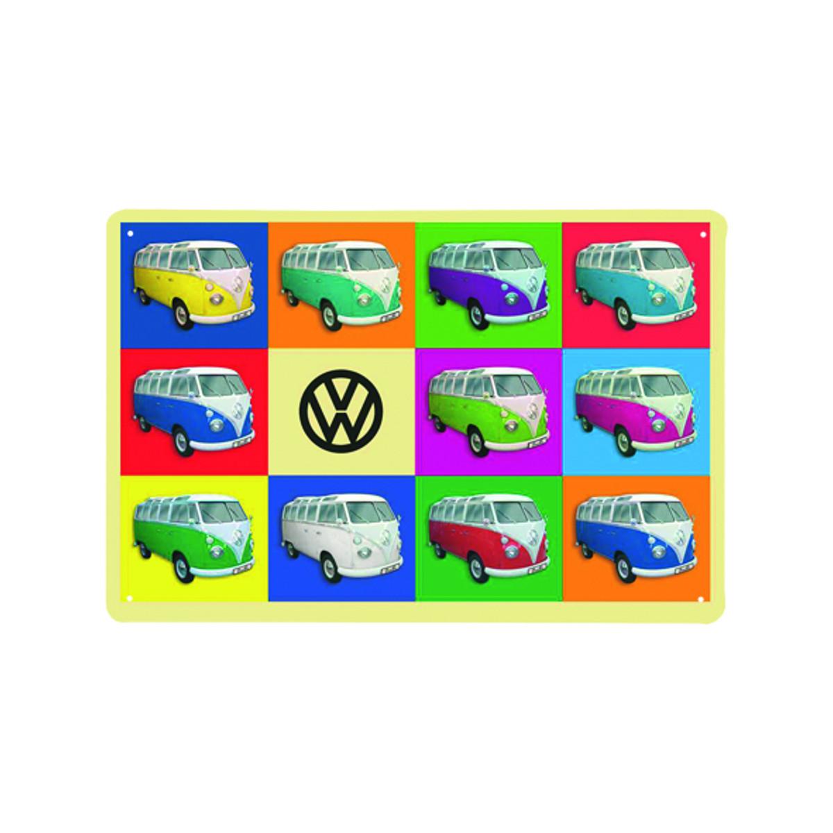 VW Kleinbus design-peltitaulu