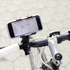 Bike Phone Holder Black - Mood 1
