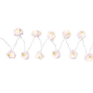 Blüten-Lichterkette
