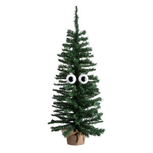 CHRISTMAS TREE ORNAMENT EYES - SET OF 2