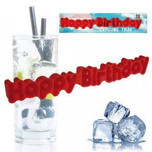 "Eiswürfelbehälter ""Happy Birthday"""