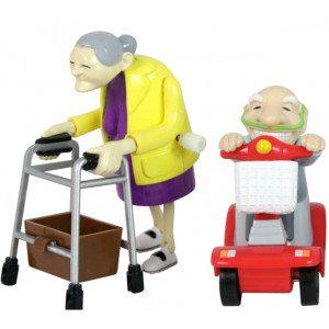 Hassunkuriset isoäiti ja isoisä