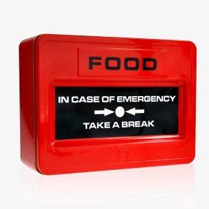 Hätätila-keksilaatikko