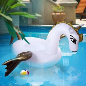 Jättimäinen Pegasus uimalelu