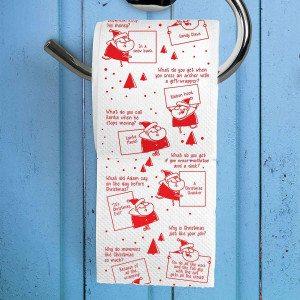 WC-paperi jouluvitseillä