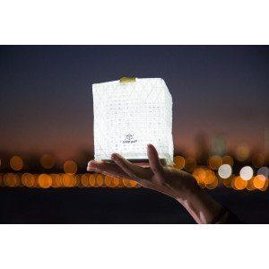 Design-aurinkolamppu, joka luo hyvää