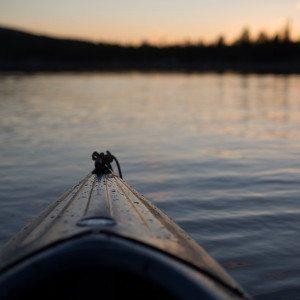 Melontaa Nuuksion Pitkäjärvellä, Espoo
