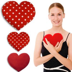 Leschi sydän-lämpötyyny