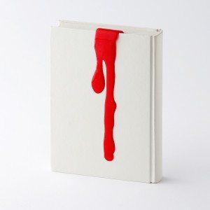 """Lesezeichen """"Blut"""""""