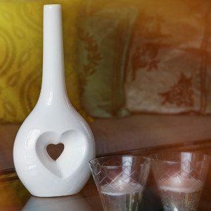 Love Vase - die Vase für Liebesgrüße