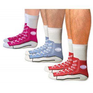 Sneaker Socken Grün