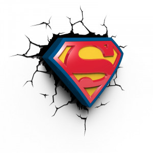 Superman 3D-lamppu