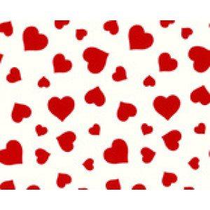 Sydän-lahjapaperirulla