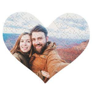 Sydän-valokuvapalapeli